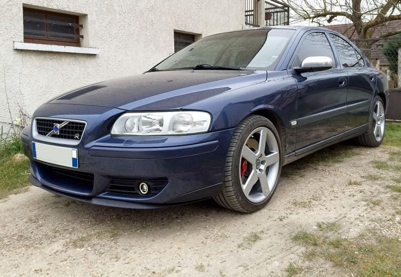 F 252 R Volvo S60r V70r Front Spoiler Lippe Frontsch 252 Rze