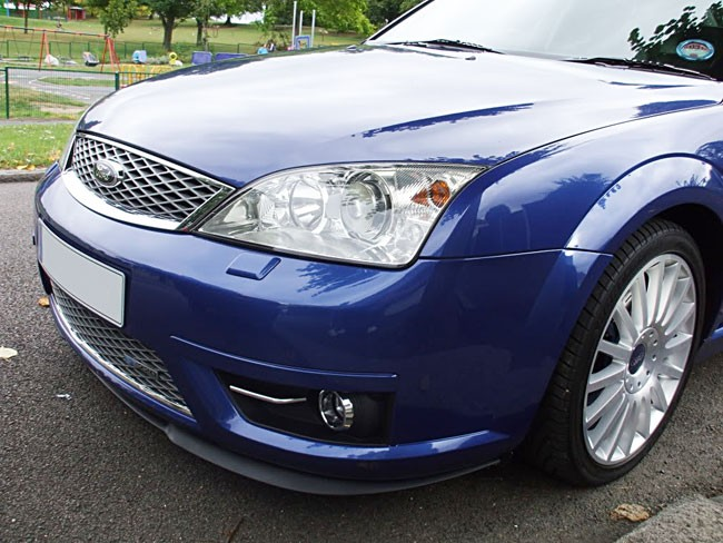 ford mondeo mk3 3 front bumper cup chin spoiler lip sport. Black Bedroom Furniture Sets. Home Design Ideas