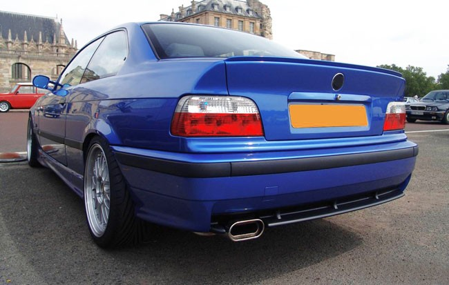Bmw E36 M M3 Gt Design Lower Rear Bumper Chin Spoiler Lip