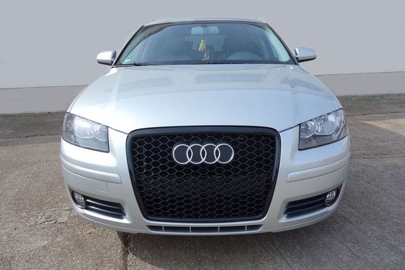audi a3 8p k hlergrill sportgrill wabengrill front tuning