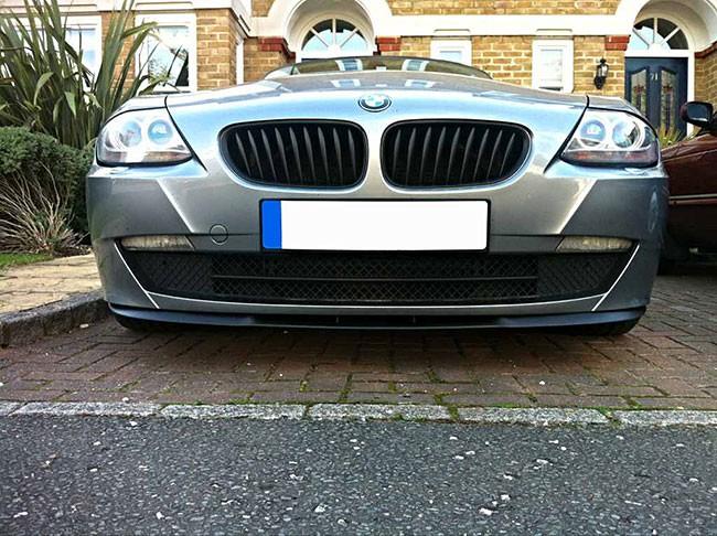 Bmw Z4 E85 E86 Front Bumper Cup Chin Spoiler Lip Sport