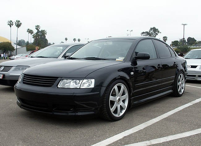 vw passat 3b b5 badgeless debadged sport front grill black w o emblem 96 00 v6 ebay. Black Bedroom Furniture Sets. Home Design Ideas