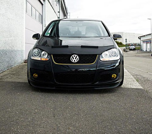 Lowered Mk4 R32: VW Golf 5 MK5 GTI R32 Front Bumper Cup Chin Spoiler Lip