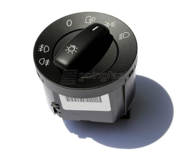 VW Passat B6 Headlight Switch with Fog Lights